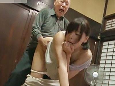 【ヘンリー塚本】(お義父さまのすごい・・・っ)強姦されイラマチオされても興奮しちゃうドM人妻。ポルチオガン突きで痙攣絶頂